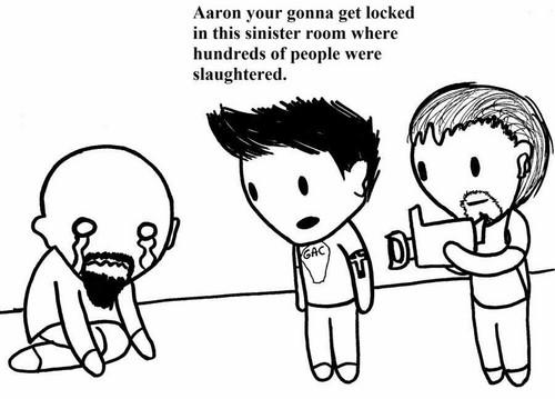 Poor aaron