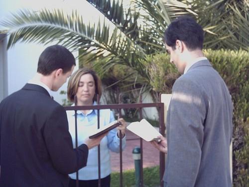 Preaching Door-To-Door