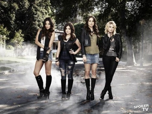 Pretty Little Liars - Season 3 - New Cast Promotional bức ảnh