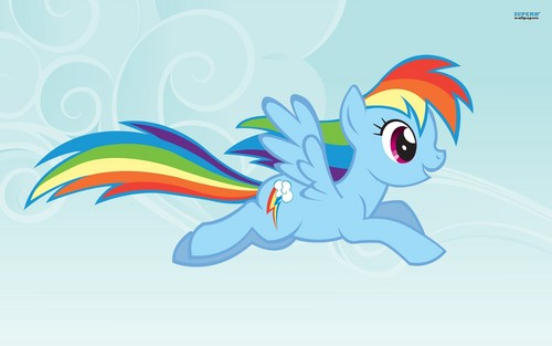 Rainbow Dash Wallpaper - rainbow-dash Wallpaper