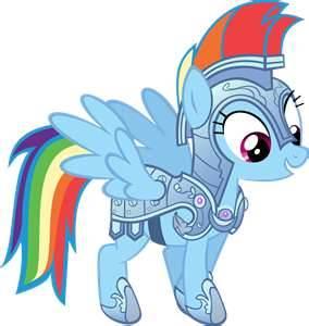 Rainbow dash's jousting armor