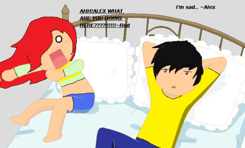 Red and Alex - Lol Pics