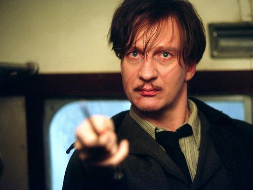 Hogwarts Professors wallpaper probably with a business suit called Remus Lupin Wallpaper