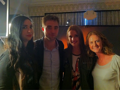 Rob Promotes 'Breaking Dawn Part 2' In Londres