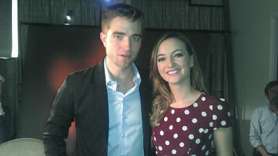Rob Promotes 'Breaking Dawn Part 2' In London