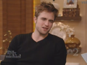 Rob on Live with Kelly&Michael