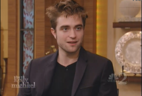 Robert on Live with Kelly&Michael