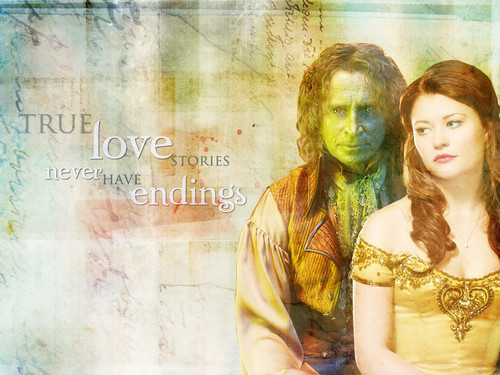 Rumpel and Belle wallpaper entitled Rumbelle ✯