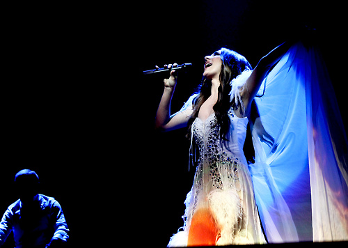 Eurovision Song Contest দেওয়ালপত্র containing a সঙ্গীতানুষ্ঠান entitled Sabina Babayeva (Eurovision 2012 Azerbaijan)