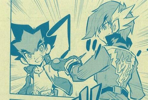 Sakyo and Zero in Manga