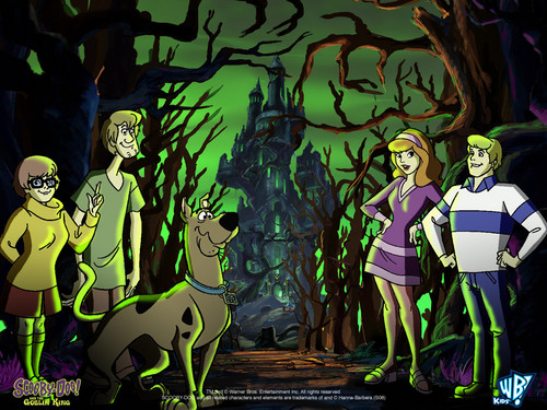 Scooby-Doo achtergrond possibly containing anime called Scooby Doo & The Goblin King