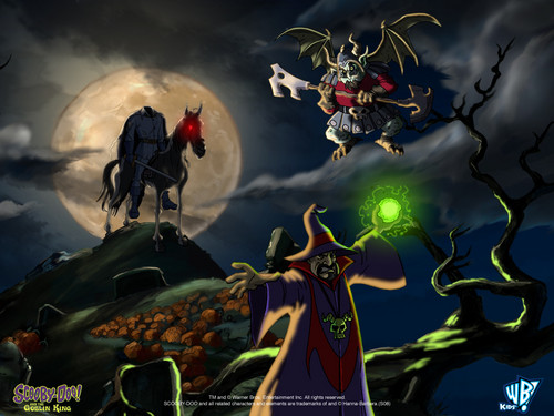 Scooby-Doo wallpaper containing anime called Scooby Doo & The Goblin King