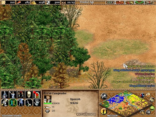 Screenshot for Age of Empires II: The Conquerors