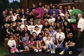 Barney the Purple Dinosaur wallpaper titled Season 1 cast