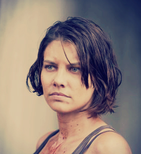 The Walking Dead: Maggie Greene 壁纸 containing a portrait titled Season 3