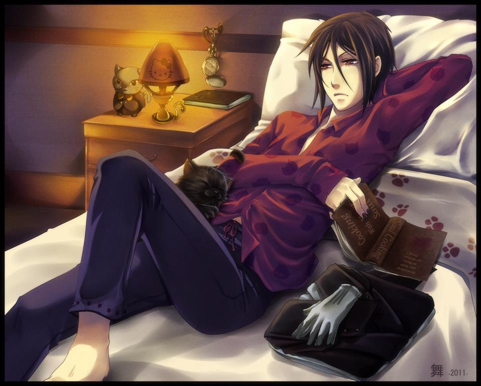 Sebastian kuroshitsuji fan art 32771797 fanpop for Hot bed love images