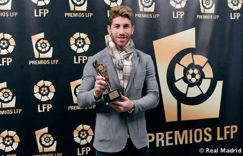 Sergio Ramos wallpaper called Sergio Ramos LFP Premios