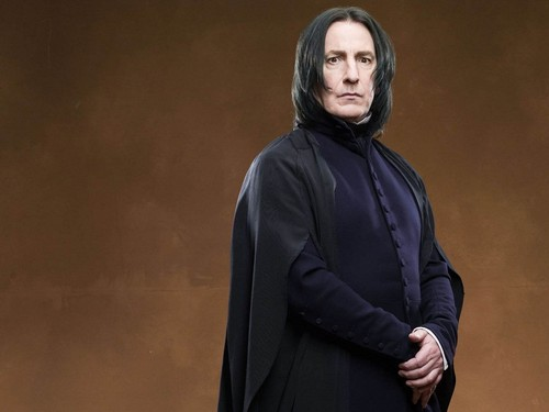 Hogwarts Professors wallpaper possibly containing a cloak titled Severus Snape Wallpaper