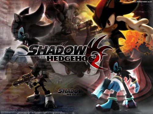 Shadow The Hedgehog kertas dinding entitled Shadow The Hedgehog