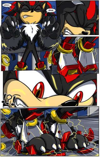 Shadow The Hedgehog kertas dinding titled Shadow the Werehog transformation Part 2