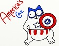Simon's Cat as Captain America