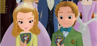 Sofia The First wallpaper called Sofia the First Princess Amber and Prince James