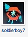 Soldierboy on the board - alpha-and-omega icon