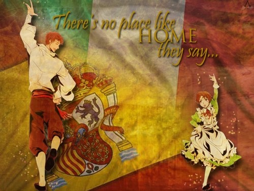 Spain and Romano wallpaper