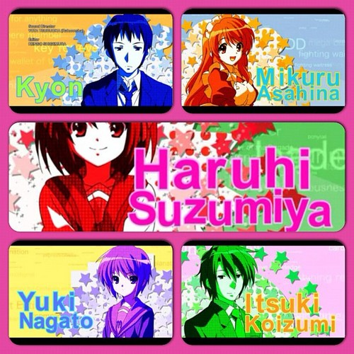 The Melancholy of Haruhi Suzumiya wallpaper containing anime called Super Driver!