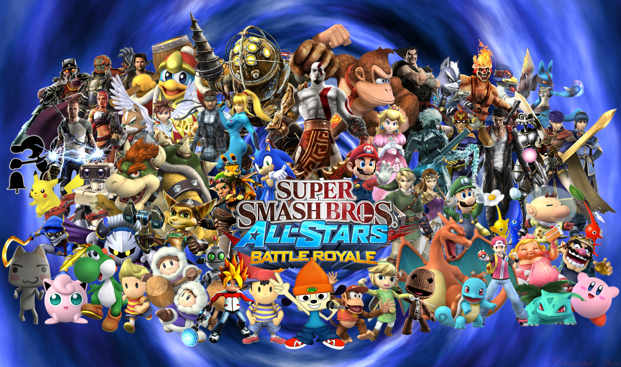 Super Smash Bros. Brawl Super Smash Bros All-Stars Battle Royal!