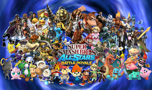 Super Smash Bros All-Stars Battle Royal!