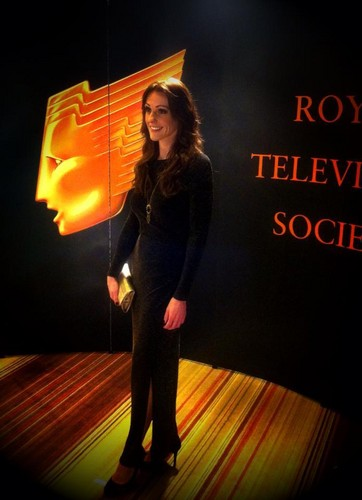 Suranne Jones arrives at RTS North West Awards 2012
