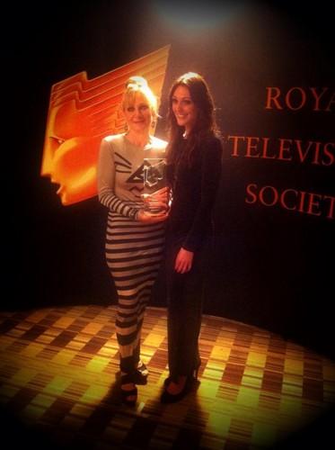 Suranne Jones arrives at RTS North West Awards 2012