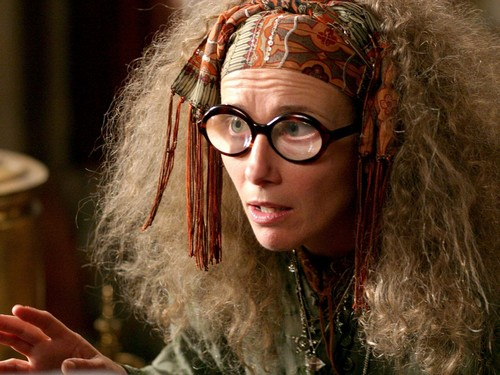 Hogwarts Professors 바탕화면 titled Sybill Trelawney 바탕화면