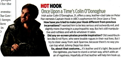 "Once Upon A Time wallpaper entitled TV Guide ""Hot Hook"""