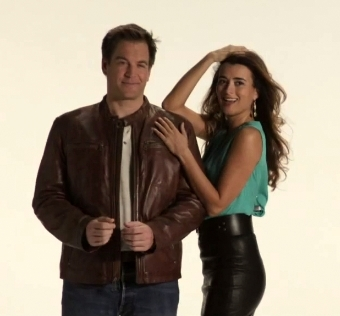 Michael Weatherly/ Cote de Pablo TV Guide Magazine Photoshoot November