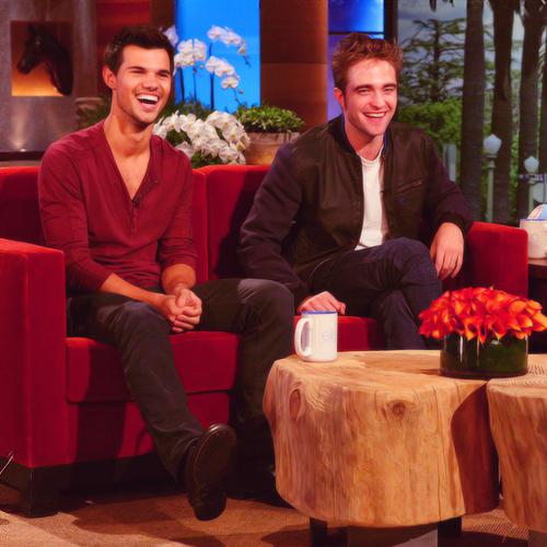 Taylor and Robert at The Ellen Zeigen