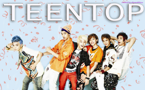 Ieva wallpaper probably with a sign and anime called Teen Top