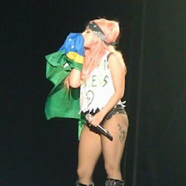 The Born This Way Ball Tour in Porto Alegre
