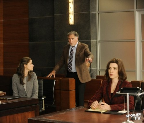 The Good Wife - Episode 4.08 - Here Comes the Judge - Promotional фото