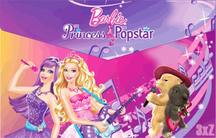 The Princess, The Popstar, The Muscateer, The Guitarist