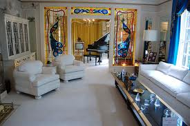 The living room in Graceland