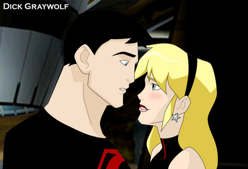 The scene I'm hoping for Superboy/Wonder Girl