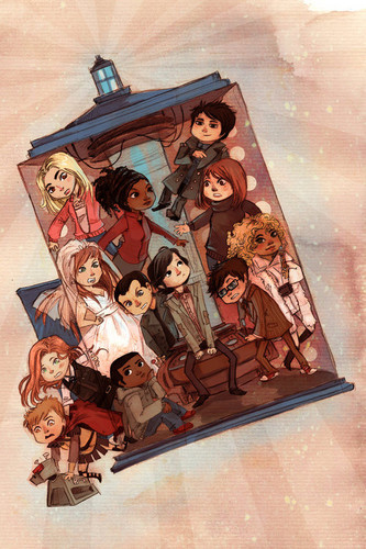 Too many companions!! :D