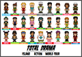 Total drama cast - total-drama-island fan art