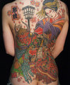 Traditional Japanese tattoo - tattoos photo