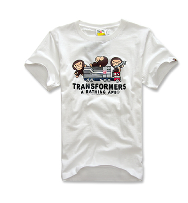 Трансформеры A Bathing Ape short sleeve t рубашка