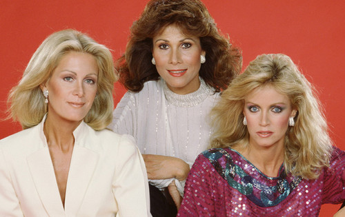 Knots Landing wallpaper called Val & Karen & Abby