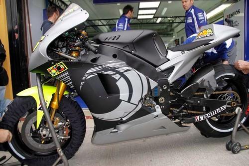 Vale's new Yamaha