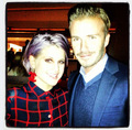 Victoria and David Beckham with kelly Osbourne - Nov. 8, 2012 - victoria-beckham photo